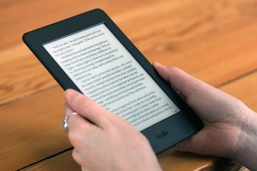 On Wednesday April 13, Amazon introduced its eighth-generation Kindle aimed for very dedicated readers. Photo credit: Yahoo