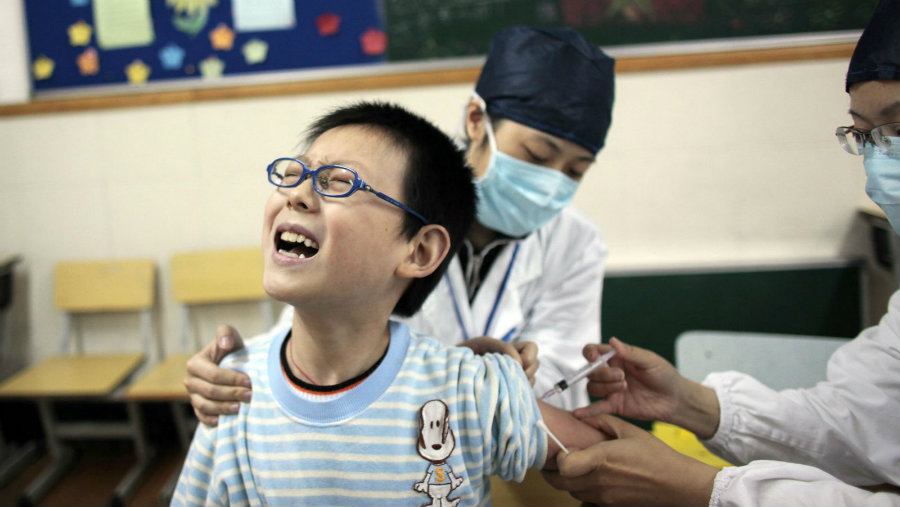 Around 357 officials will be punished by the Chinese government after an illegal sale of vaccines scandal disrupted the country. Photo credit: Reuters / Aly Song / Quartz