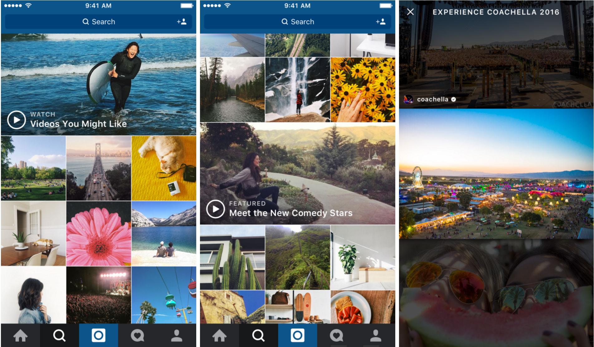 Instagram-Explore-tab