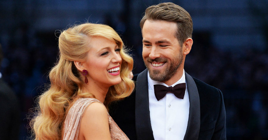 Blake Lively and Ryan Reynolds are expecting their second child 16 months after their daughter James was born. Photo credit: Just Jared