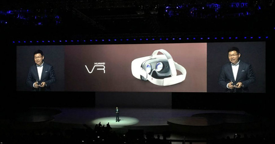 Huawei Technology (SHE: 002502) presented on Friday a new virtual reality (VR) headset in Shanghai. Photo credit: Movil Zona