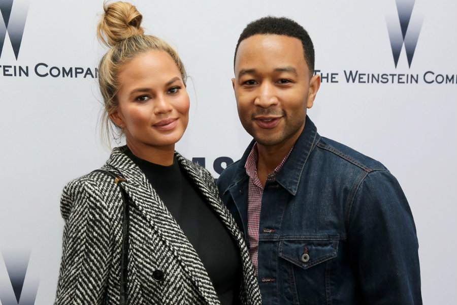 Chrissy Teigen and John Legend announced on Sunday morning the birth of their daughter, Luna Simone Stephens. Photo credit: In Touch Weekly