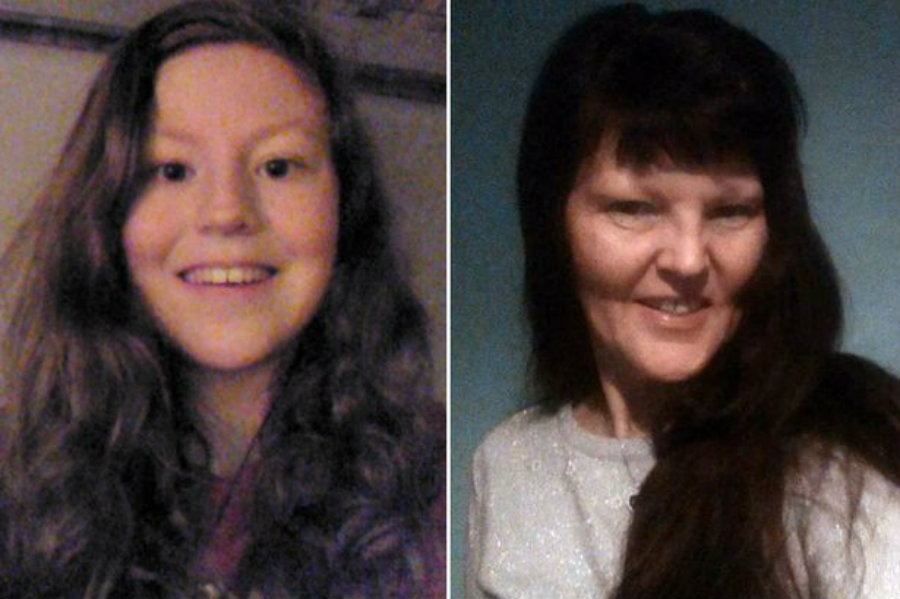 The bodies of Katie Edwards and her mum Liz were found on Friday lunchtime. Credit: Mirror