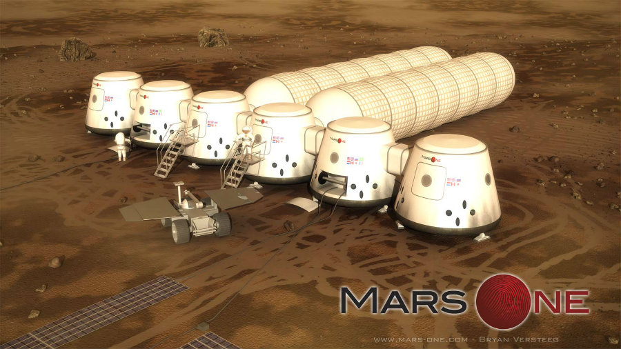 The non-profit foundation Mars One is currently preparing the first human mission to reach the planet in 2026. Photo credit: Qore