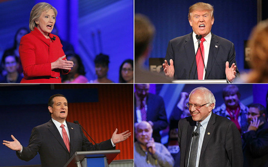 The United States presidential elections of 2016 are scheduled for Tuesday, November 8. Photo credit: Bloomberg / AFP / Telegraph