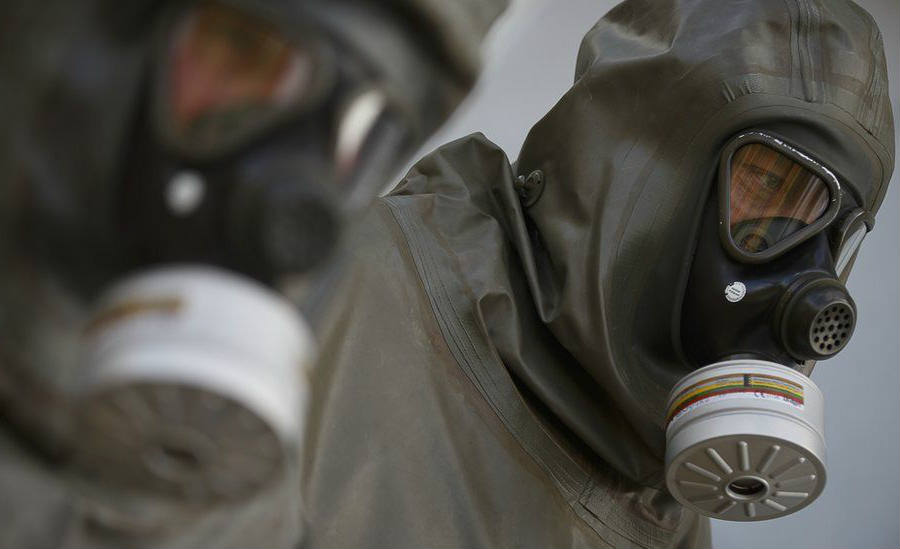 The rebel group in Mosul is known to have seized large quantities of industrial chlorine and are thought to be able to manufacture their own mustard gas. The Islamic State has proven to be one of the greatest threats to society since the past few years. Credit: BBC News