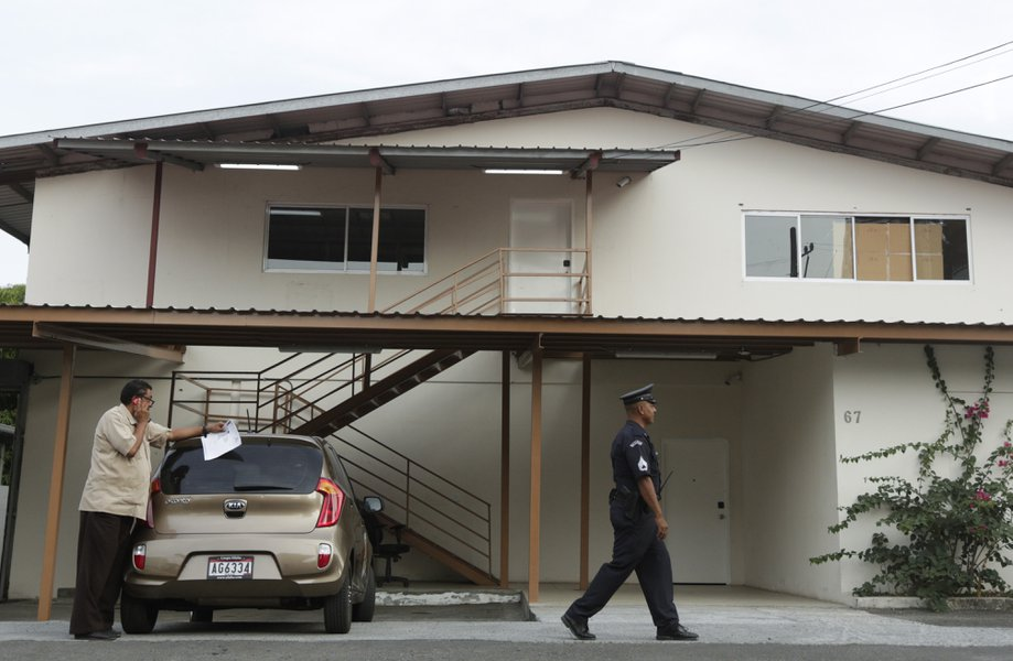 The raid that took place on Friday was able to compile sufficient documentation as evidence in order to prosecute the lawyer's firm Mossack Fonseca in Panama City. Credit: San Diego Union Tribune