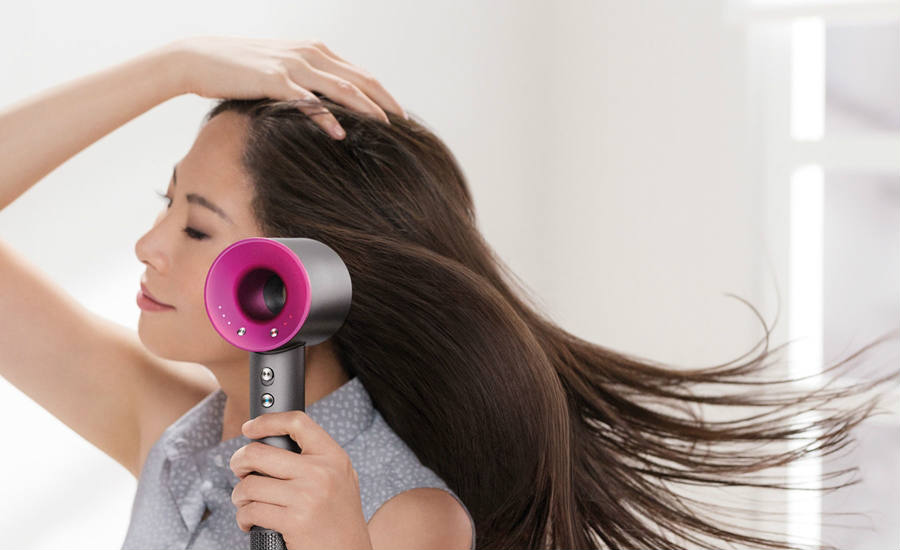 The new Supersonic hair drier from the innovating Dyson company is yet to win a name for itself as it advertises a better, more quiet way to dry hair for women. Credit: Ars Technica