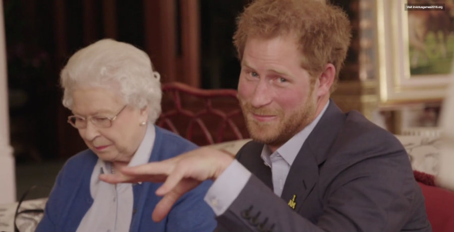 "Prince Harry and Queen Elizabeth of the United Kingdom respond to a video from the Obamas, where they assert that they will ""bring it"" for the Invictus Games of 2016. Photo credit: The Epoch Times"