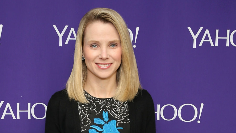 According to the Securities and Exchange Commission, Yahoo CEO Marissa Mayer had received a cut of 15 percent on her compensation. Photo credit: Cindy Ord / Today.com