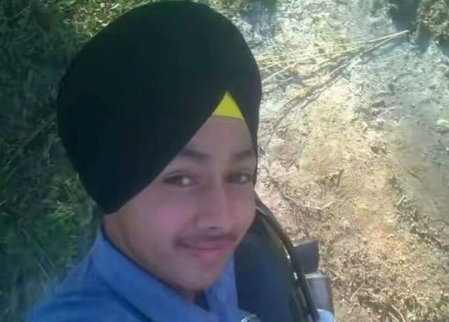 A teenage boy in India killed himself on Friday while he was taking a selfie with his father's gun. Photo credit: BBC