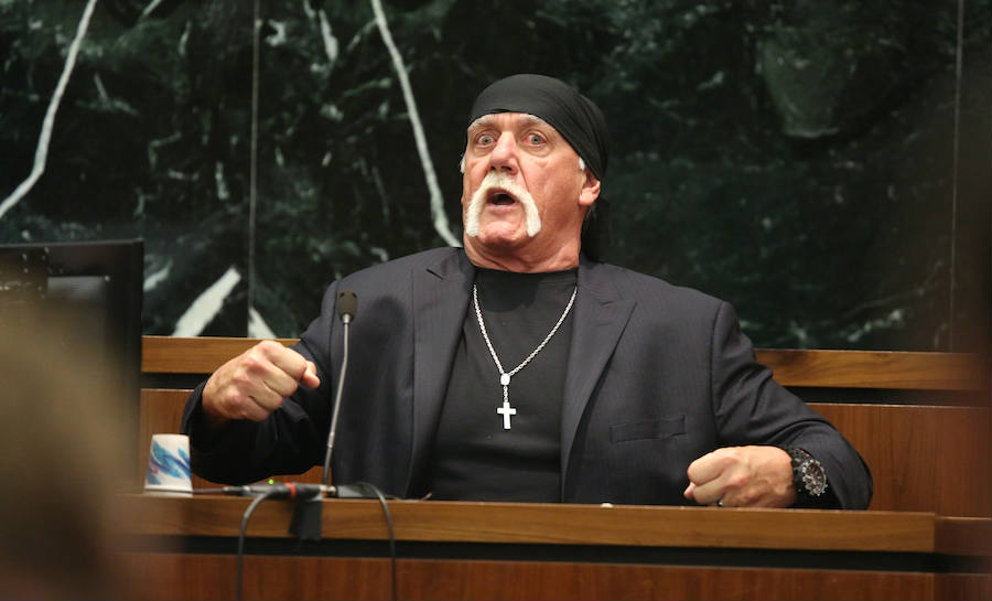 Hulk Hogan has once again sued the entertainment company Gawker over 'emotional distress' over a sextuple involving the ex-wrestler. Credit: The Inquisitr