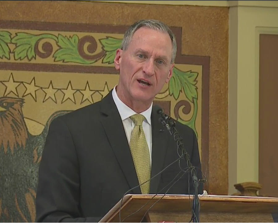 Daugaard says he is proud of the state's track record. He also said that in South Dakota they have undertaken a number of initiatives to allow more individuals to live independent lives. Credit: KSFY
