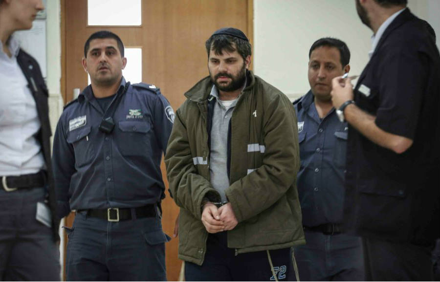 Yosef Haim Ben David in court