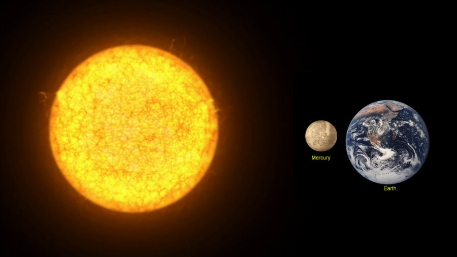 Skywatchers in the United States will be able to watch Mercury pass between Earth and the Sun on Monday, May 9. Photo credit: Nemesis Maturity