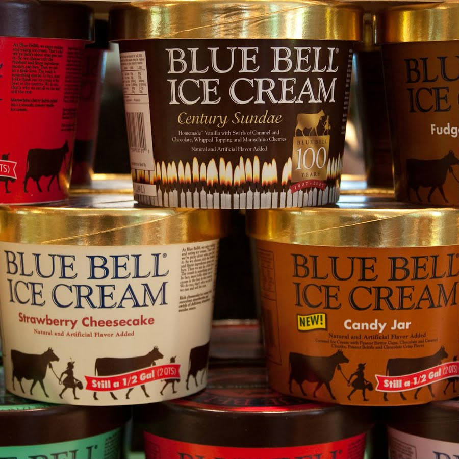 Blue Bell Ice Creameries recall