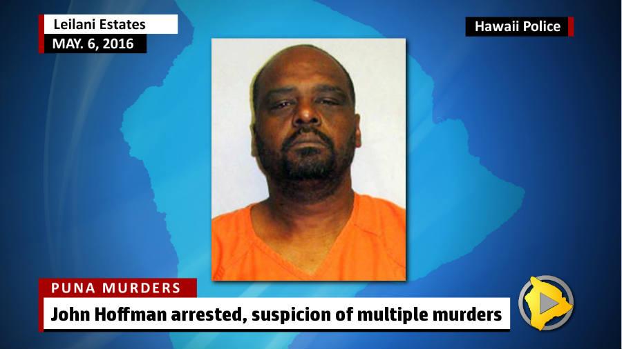 John Hoffman arrested for triple-murder in Hawaii