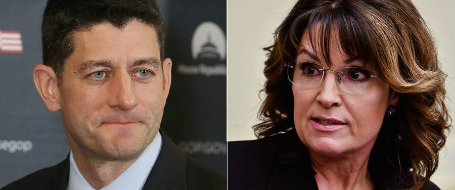 Sarah Palin vs. Paul Ryan
