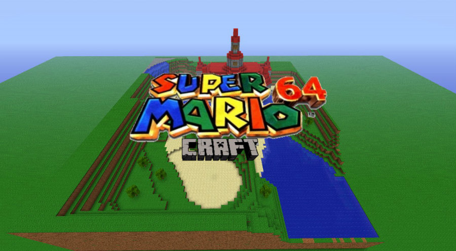 Nintendo announced today that the Wii U version of Minecraft will bring a series of Super Mario Bros items. Photo credit: Planet Minecraft
