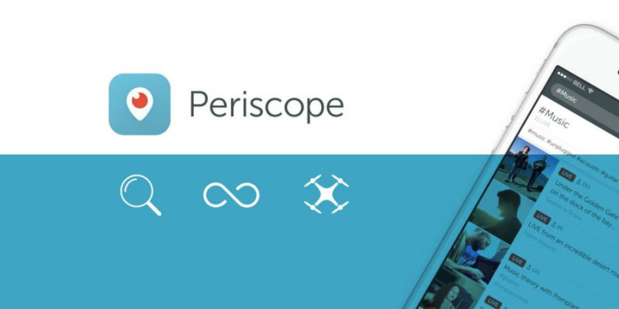 Periscope releases new features for Drones