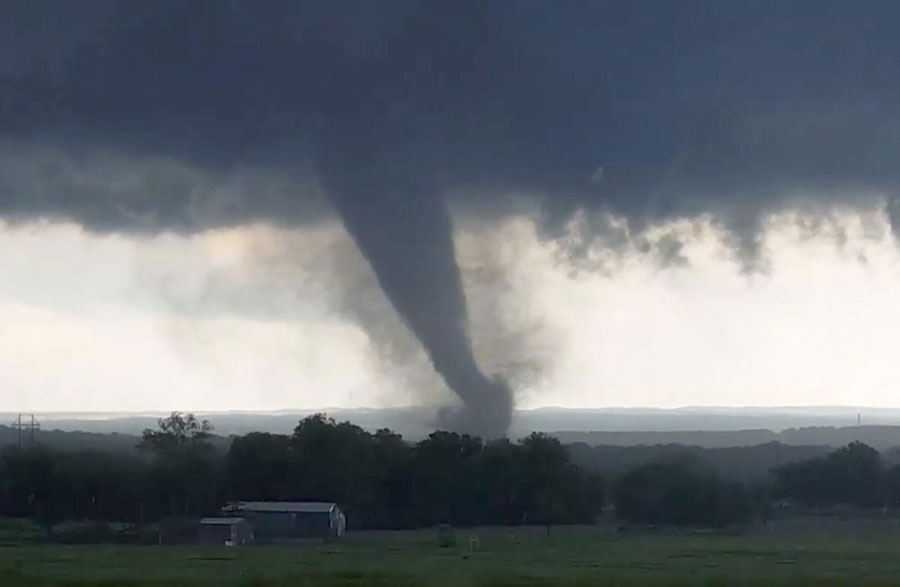 Three Tornadoes Hit Oklahoma