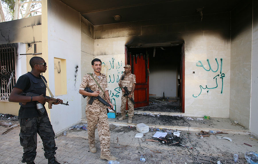 Death penalty denied to Benghazi attacker