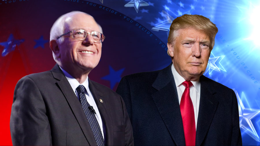 Bernie Sanders beat Hillary Clinton in the West Virginia Democratic primary on Tuesday while Republican Donald Trump won primaries in West Virginia and Nebraska. Photo credit: Ktvu.com