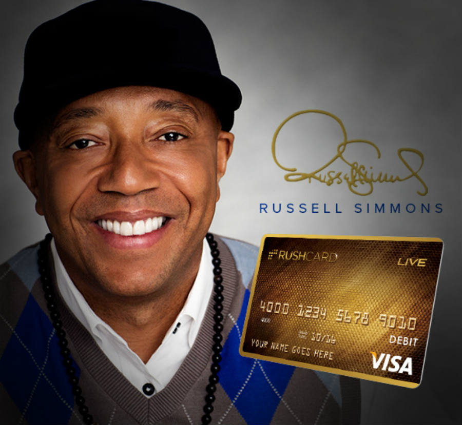 Russel Simmons RushCard Banner