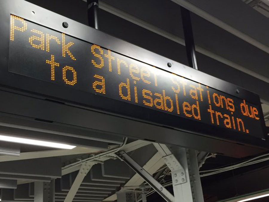 Boston Green Line derails