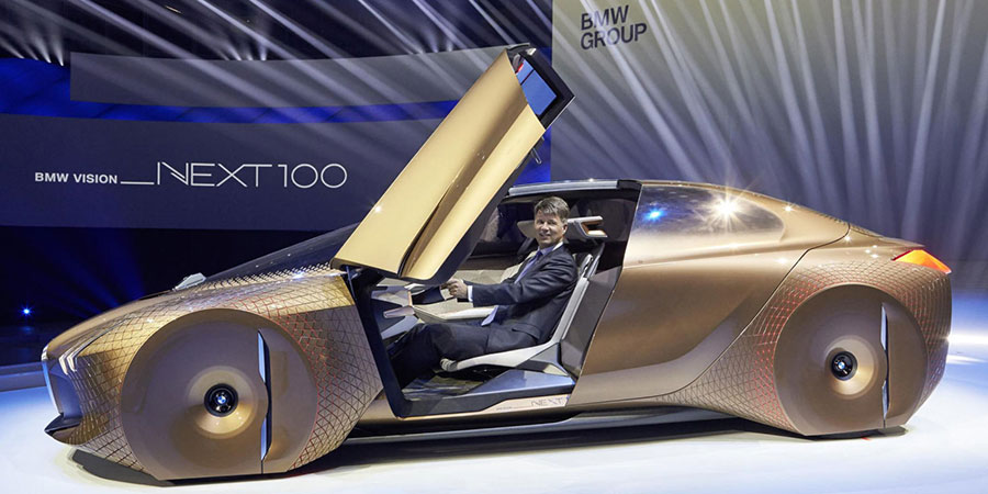 BMW Next 100 autonomous car