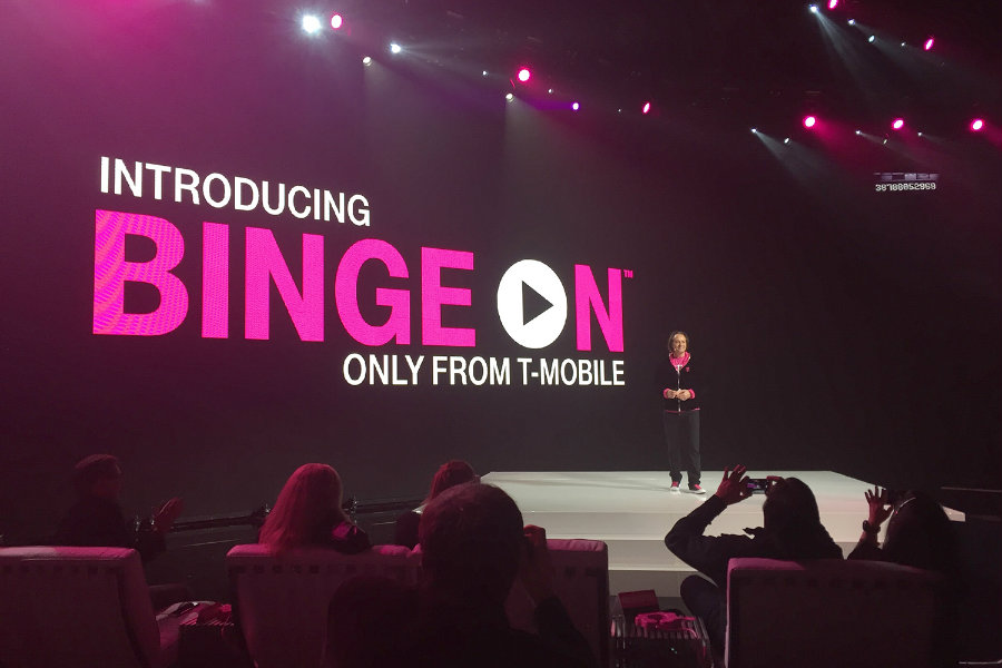 The communication company, T-Mobile, has announced the addition of more than twelve new streaming services into its Binge On, the platform. Photo credit: Digital Trends