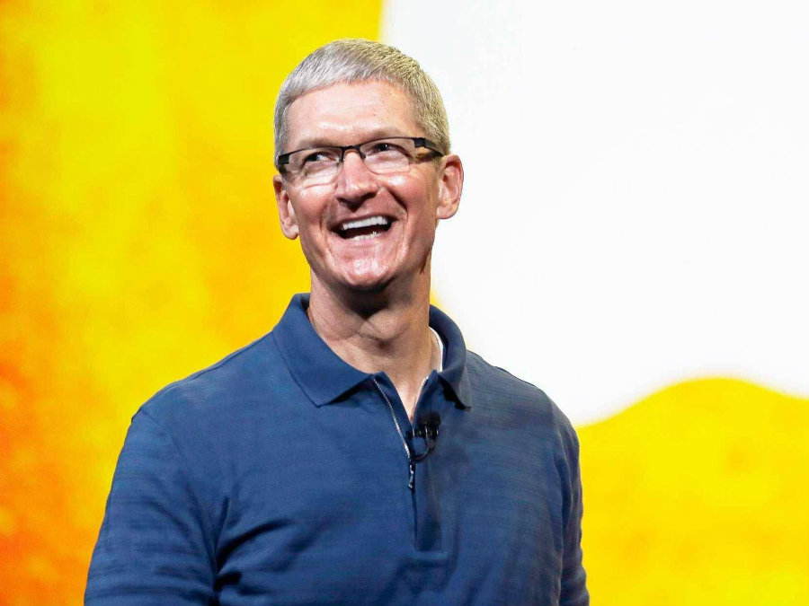 Apple's CEO Tim Cook arrived in India on late Tuesday to announce future plans for the company in the world's third-biggest smartphone market. Photo credit: Tech.economictimes.indiatimes.com