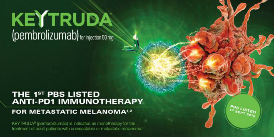 Keytruda was approved by federal law for advance melanoma cases in 2014 after the developers of the drug showed the results of 655 that tested it. Image Credit: Healthy MiniMarket