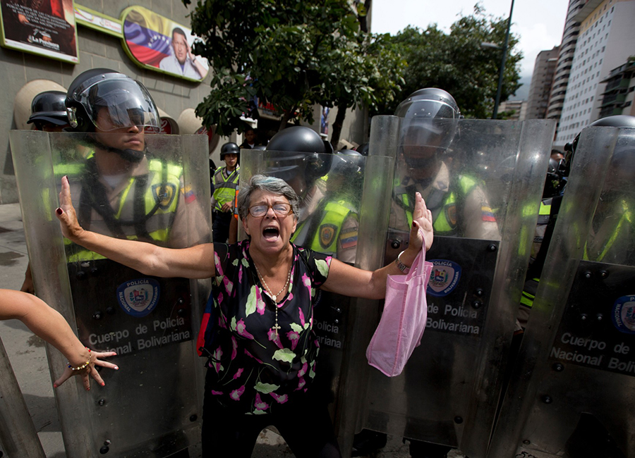 Venezuela-Protest-may