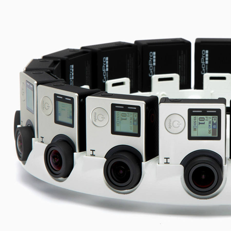 A Jump-ready virtual reality camera from GoPro has already captured the people's attention along with a hype nationwide for the next release at the hands of IMAX and Google. Image Credit: Road To VR