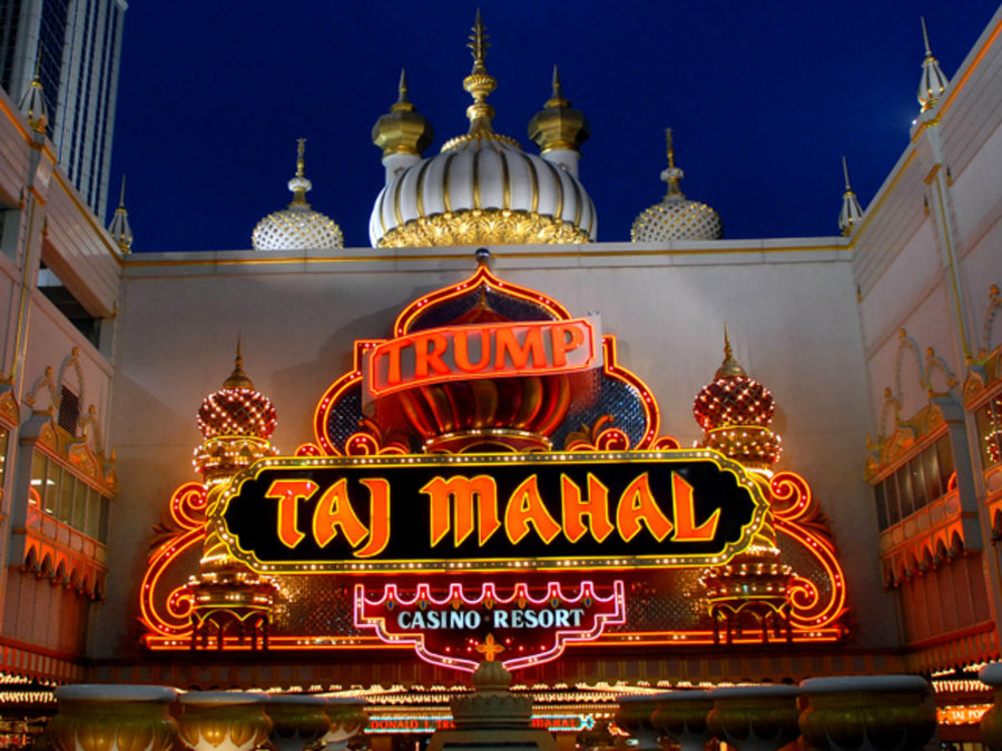 Trump's Taj Mahal's new owner finally sat down Friday at a poker table as the casino complex reopened its poker room since shutting down in February last year due to bankruptcy. Photo credit: Getty Images