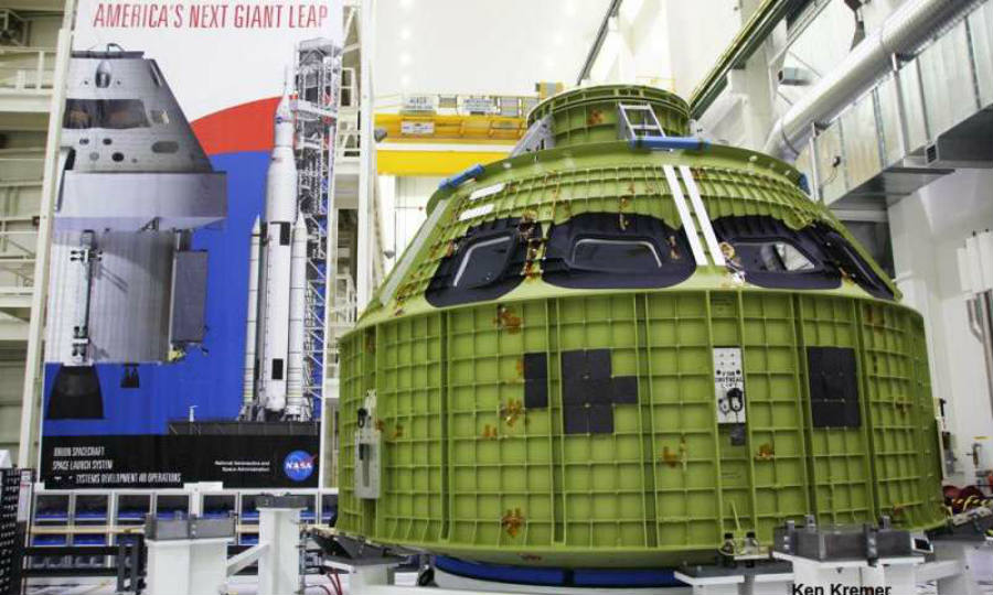 Orion Pressure Vessel