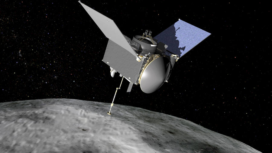 The OSIRIS-Rex spacecraft will return to Earth on 2023
