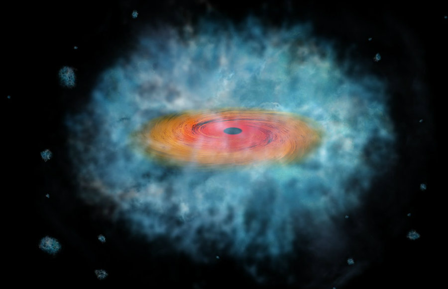 A team of astrophysics led by Fabio Pacucci, from the Scuola Normale Superiore (SNS) in Pisa, Italy might have discovered a method to identify the oldest black holes in the universe. Photo credit: NASA/CXC/M. Weiss / Gizmodo