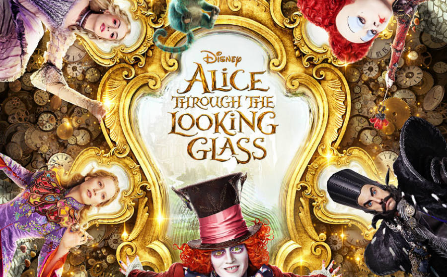Alice Through the Looking Glass opens in U.S. theaters on May 27, 2016