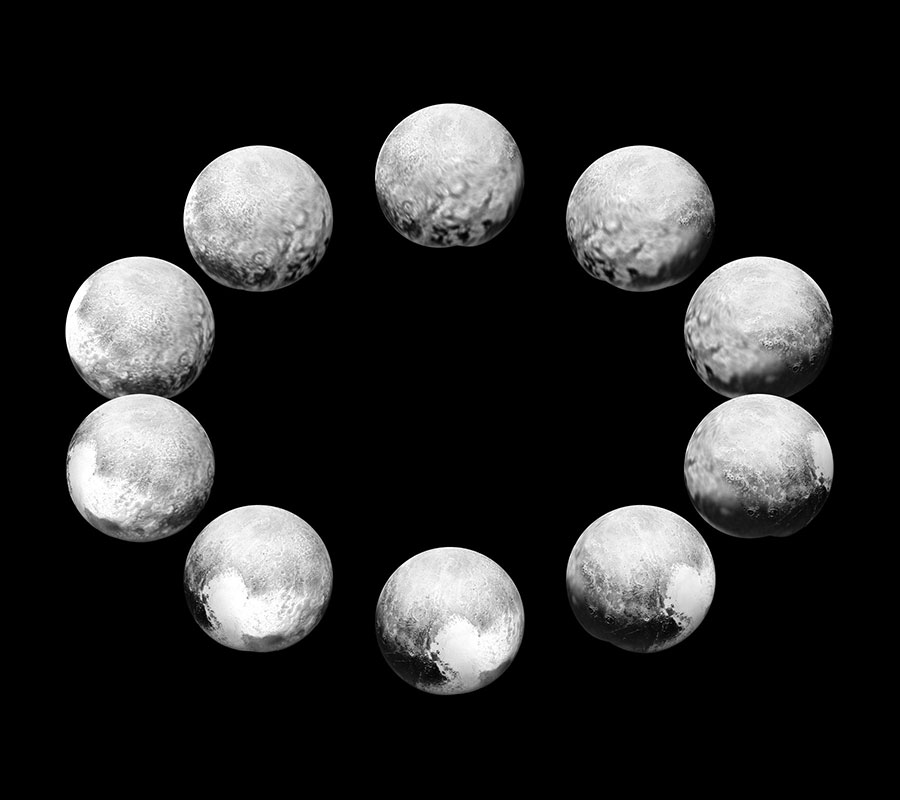 New Horizons images of Pluto