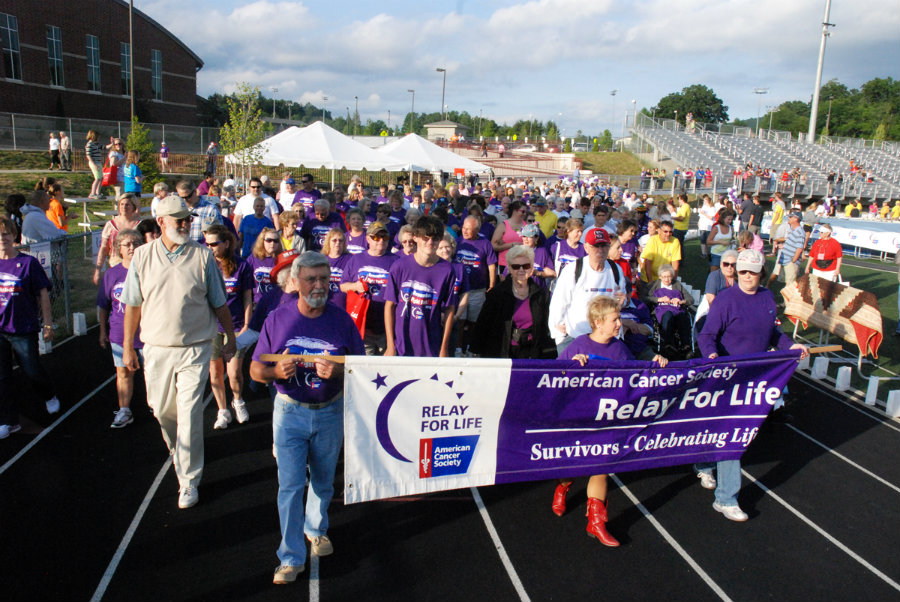 This June, the 21st Wilkes Relay for Life will be held in North Wilkesboro and teams have raised already about $48,000, an amount that will be destined to cancer research.  Photo credit: HCpress.com