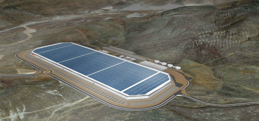 Tesla Motors has announced a big launch for its Gigafactory next July 29. Photo credit: Tesla Motors