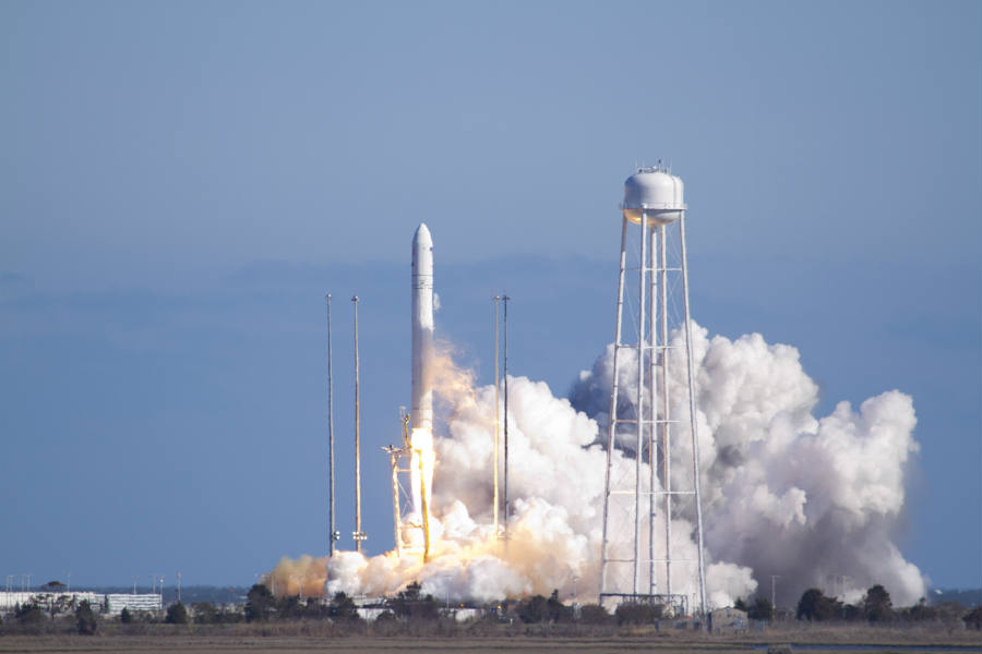 The aerospace company, based in Chandler, Arizona, has been working on NASA's resupply program to recycle rockets and send supplies to astronauts on the ISS.