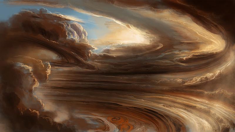 inside planet jupiter cloud layer - photo #25