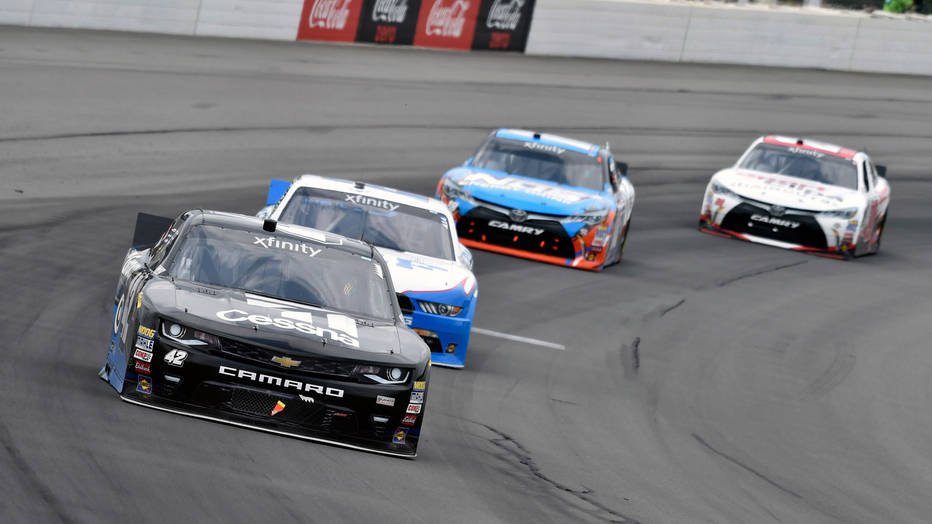 Pocono Raceway held a big race on Saturday for the Xfinity Series Cup.