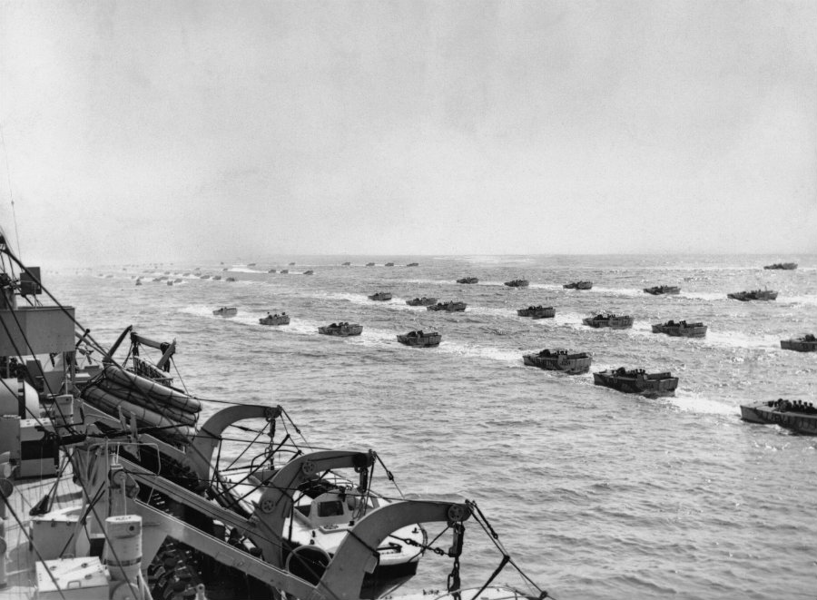 The freedom coalition needed secrecy because they wanted to move around 150.000 men with tanks, planes and ships into Europe without letting anybody know. Photo credit: World War II Today