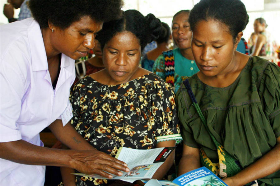 Public agencies carry on massive education campaigns which target the general population. Discouraging men from visiting sex workers, promoting condom use, and actually making the retroviral totally free and acquirable from any medical center. Image Credit: UNICEF