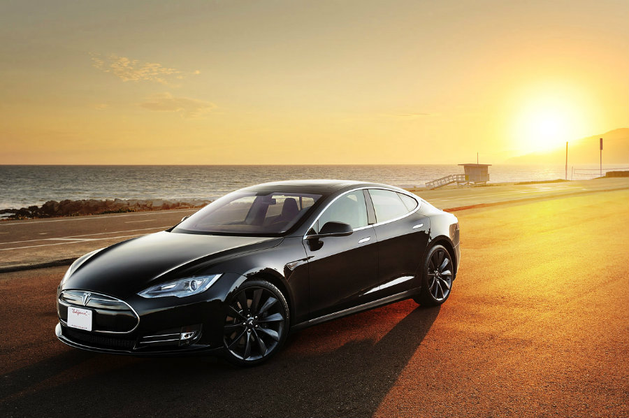 Through their blog, Tesla Motors have responded to a blogger claiming that the Model S sedan has significant suspension problems. Photo credit: Inhabitat