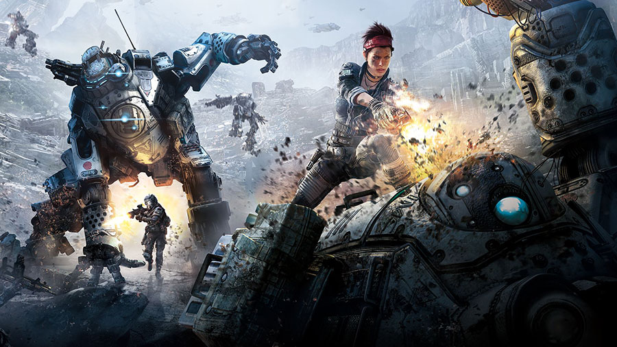 TitanFall 2 at the Electronic Arts Play